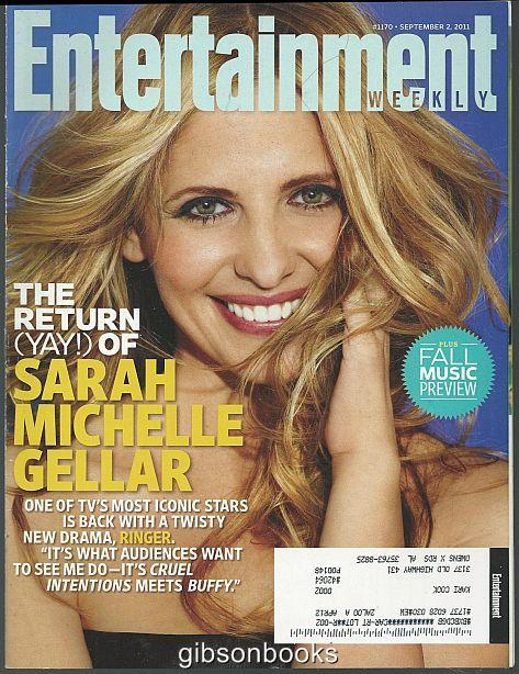 ENTERTAINMENT WEEKLY MAGAZINE SEPTEMBER 2, 2011, Entertainment Weekly