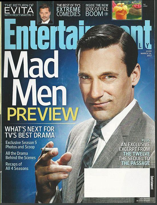 ENTERTAINMENT WEEKLY MAGAZINE MARCH 16, 2012, Entertainment Weekly