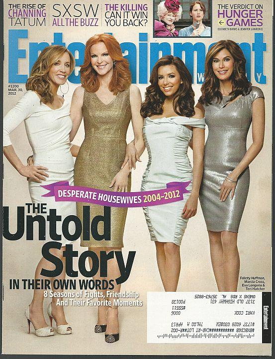ENTERTAINMENT WEEKLY MAGAZINE MARCH 30, 2012, Entertainment Weekly