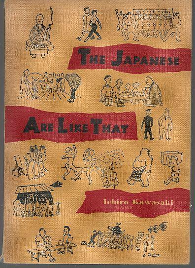 JAPANESE ARE LIKE THAT, Kawasaki, Ichiro