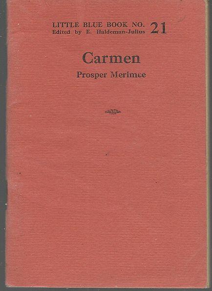 CARMEN, Merimee, Prosper