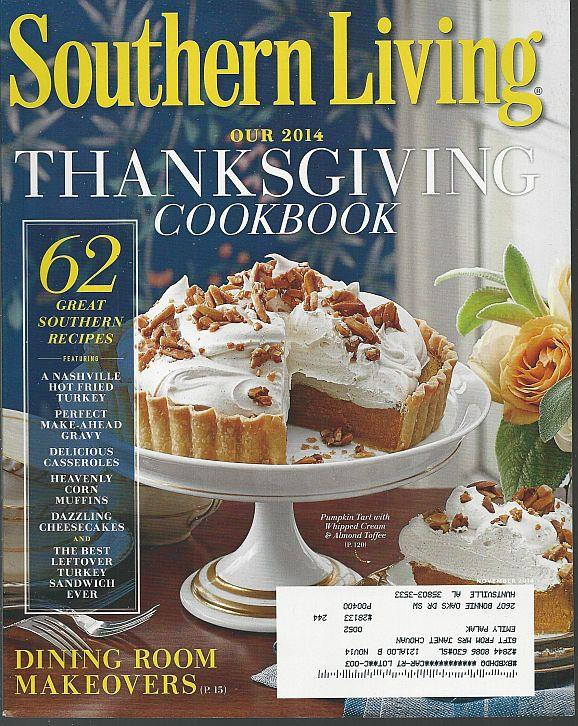 SOUTHERN LIVING MAGAZINE NOVEMBER 2014, Southern Living