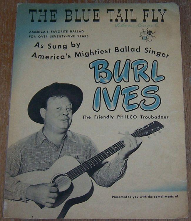 BLUE TAIL FLY, Sheet Music