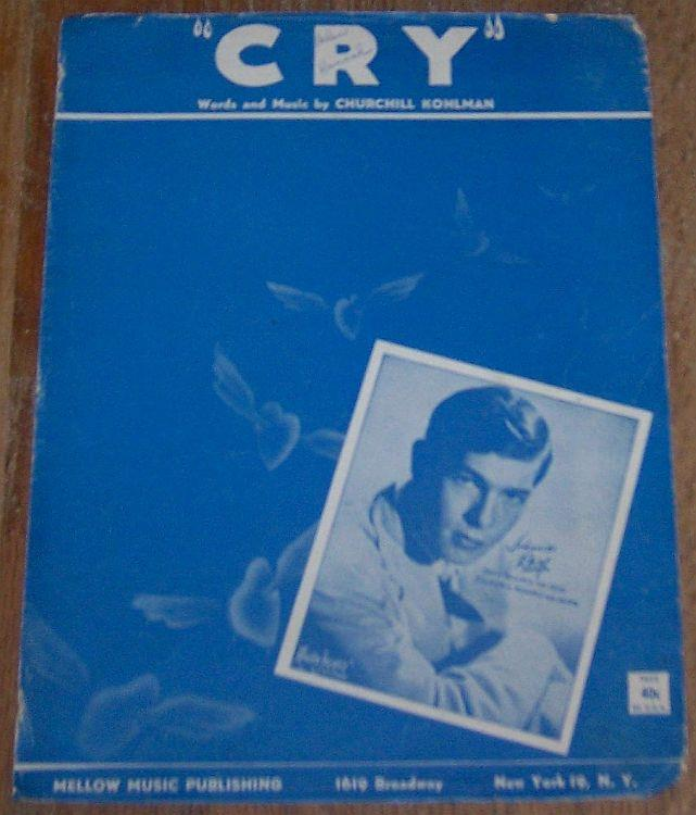 CRY, Sheet Music