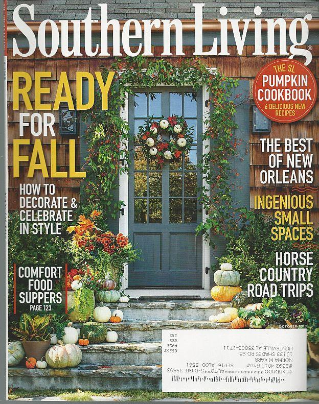 SOUTHERN LIVING - Southern Living Magazine October 2015