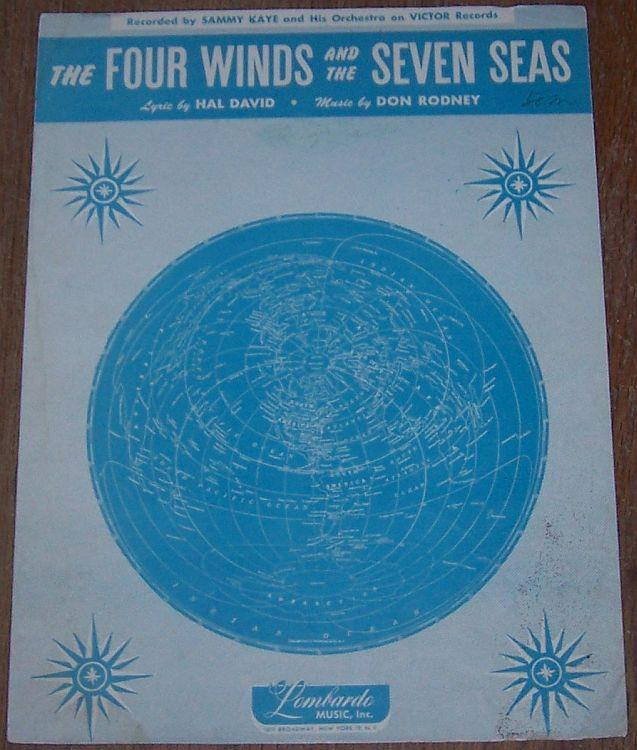 FOUR WINDS AND THE SEVEN SEAS, Sheet Music
