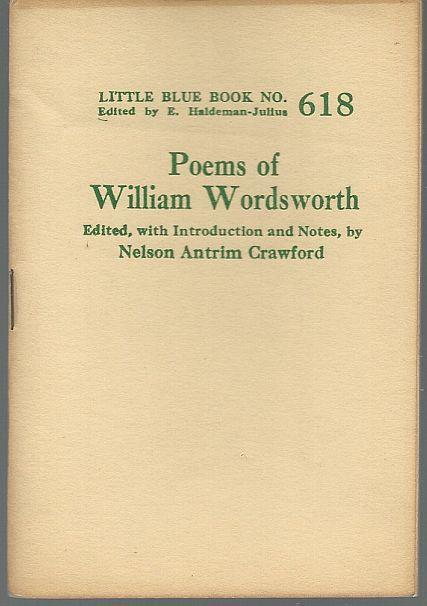 POEMS OF WILLIAM WORDSWORTH, Wordsworth, William