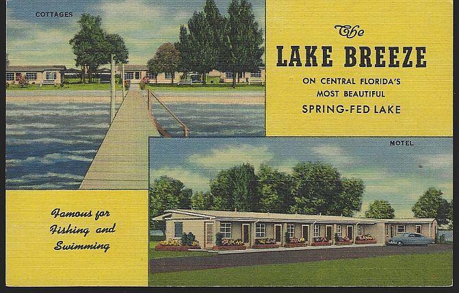 LAKE BREEZE, ST. CLOUD, FLORIDA, Postcard