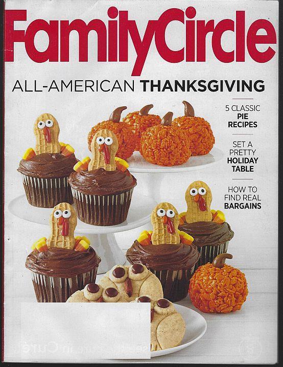 FAMILY CIRCLE MAGAZINE NOVEMBER 2015, Family Circle