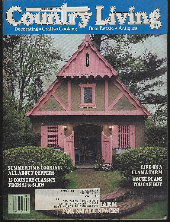 COUNTRY LIVING - Country Living Magazine July 1988