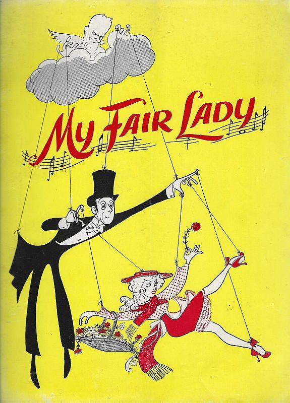 SOUVENIR PROGRAM MY FAIR LADY, MARK HELLINGER THEATRE, DECEMBER 27, 1960, Souvenir