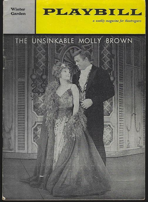 UNSINKABLE MOLLY BROWN, WINTER GARDEN, FEBRUARY 27, 1961, Playbill