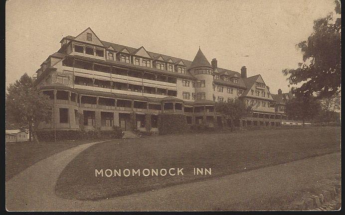 MONOMONOCK INN, CALDWELL, NEW JERSEY, Postcard