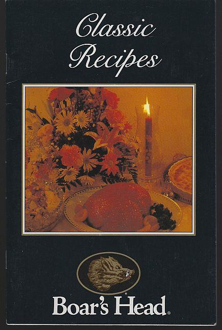 CLASSIC RECIPES, Boar's Head