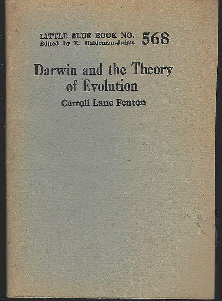 DARWIN AND THE THEORY OF EVOLUTION, Fenton, Carroll Lane