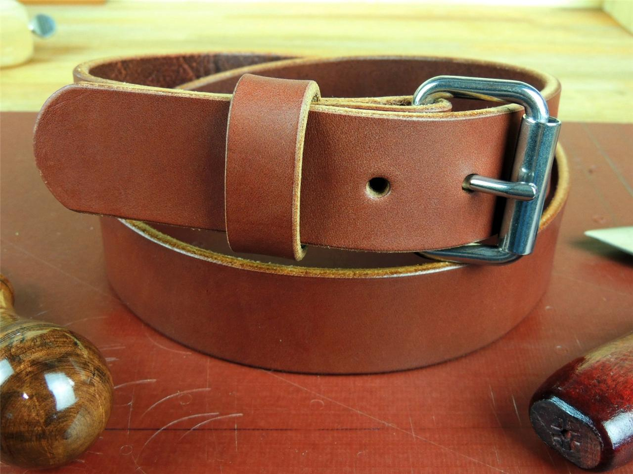 150-1-1-2-HEAVY-DUTY-LEATHER-WORK-GUN-HOLSTER-BELT-AMISH-HANDMADE-1-5