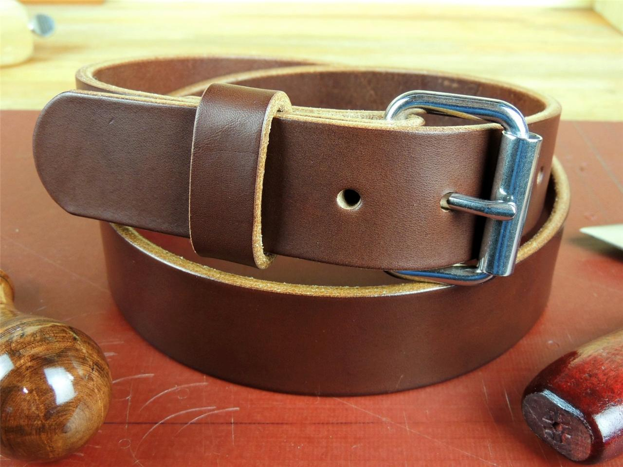 HC150-1-1-2-HEAVY-DUTY-LEATHER-WORK-TOOL-HOLSTER-BELT-AMISH-HANDMADE-1-50-NEW