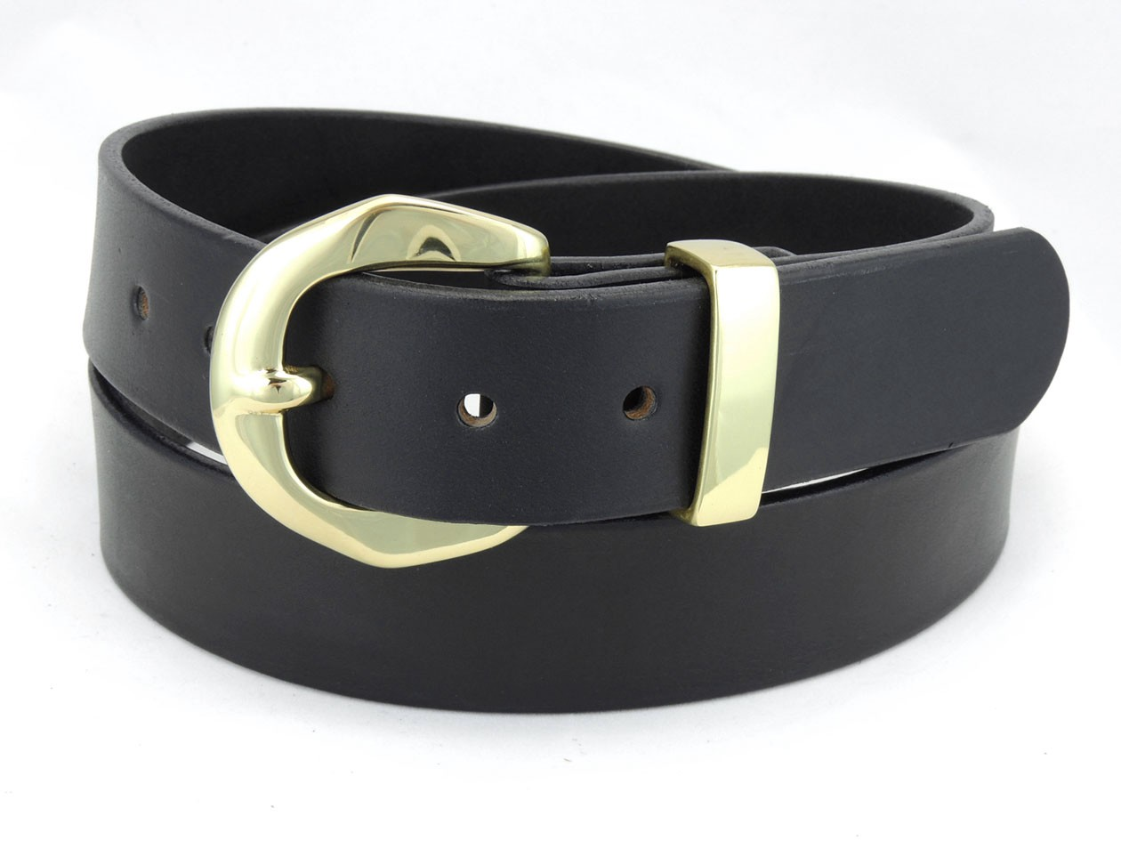 400b 1 1 2 quot wide leather dress belt casual wear amish