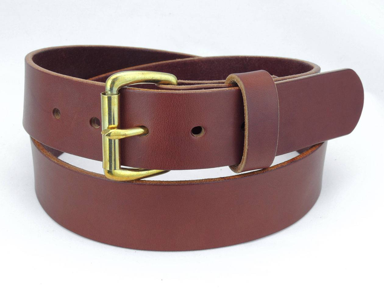 50b 1 1 2 quot wide leather dress belt casual wear amish