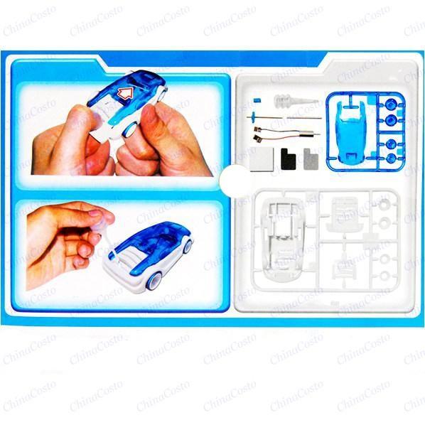 DIY Eco Friendly Kits Salt Water Fuel Cell Car Green Energy Assembled Toys 4 Kid