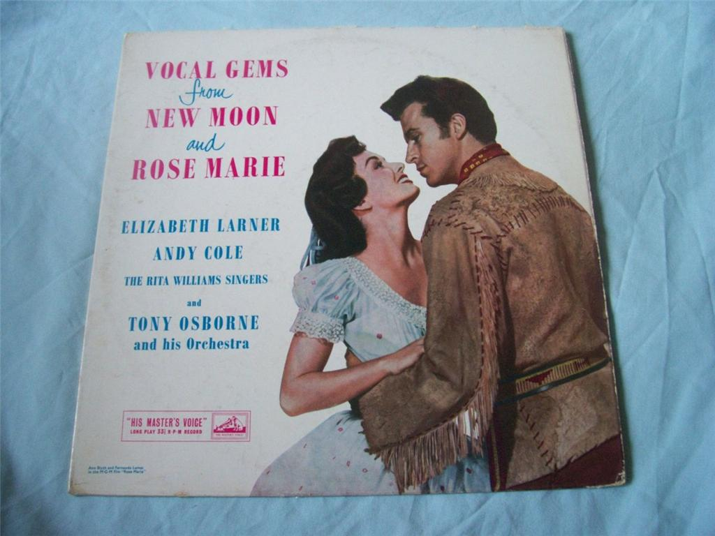 Vocal Gems From New Moon And Rose Marie