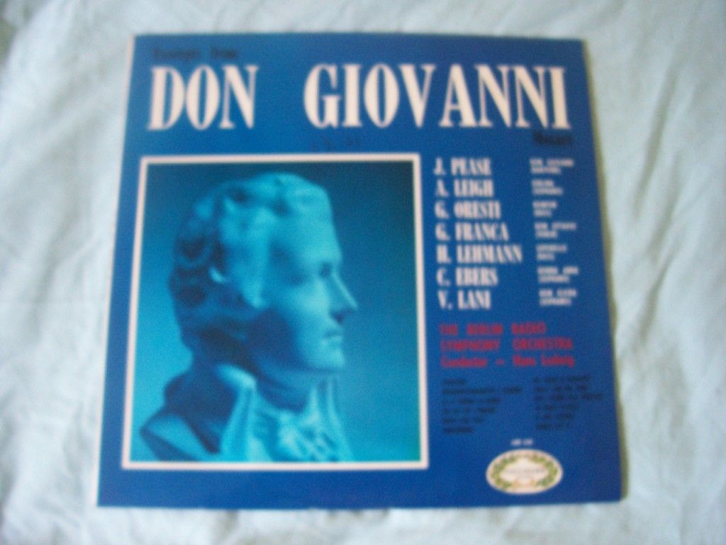 Excerpts From Don Giovanni
