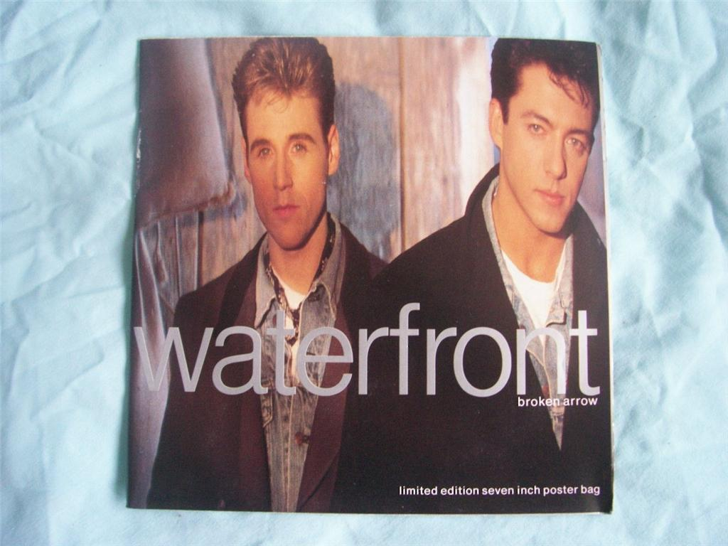 "Waterfront - Broken Arrow - Limited Edition 7"" Poster Bag"