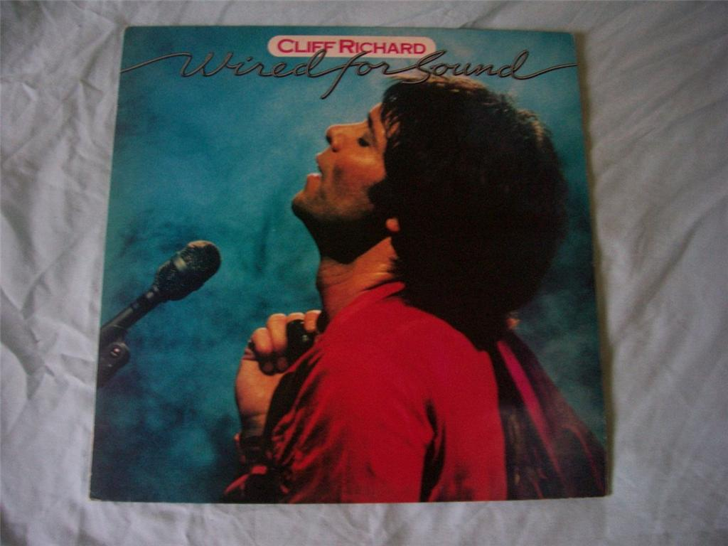 Cliff Richard Wired For Sound Records  Vinyl And Cds