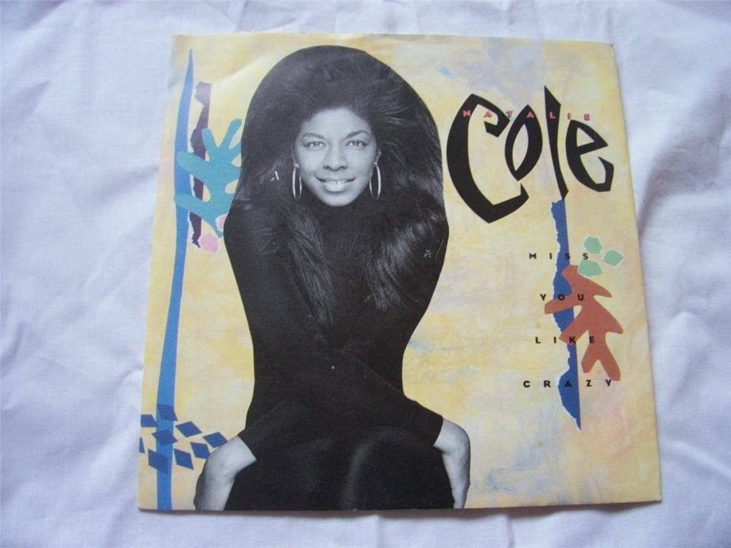 Natalie Cole - Miss You Like Crazy LP