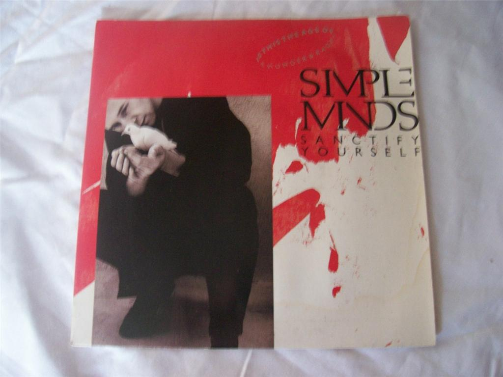 Simple Minds - Sanctify Yourself Record
