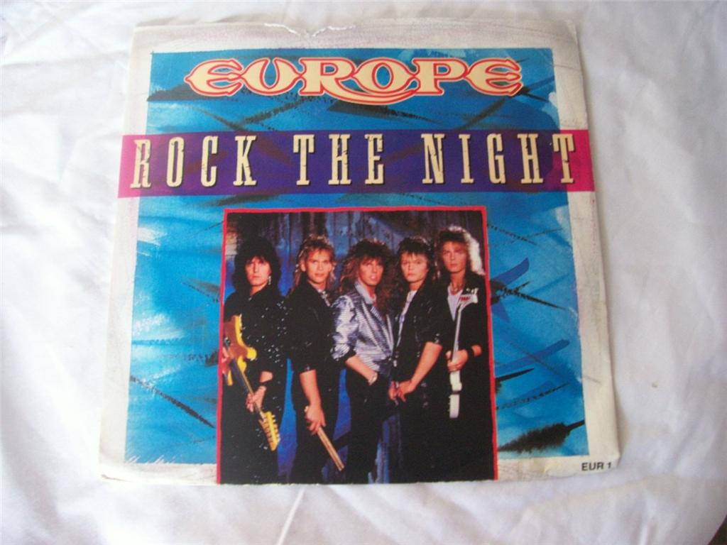 Europe - Rock The Night LP