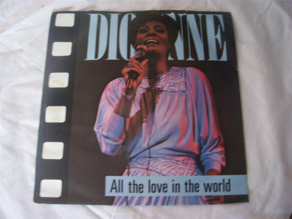 Dionne Warwick - All The Love In The World LP