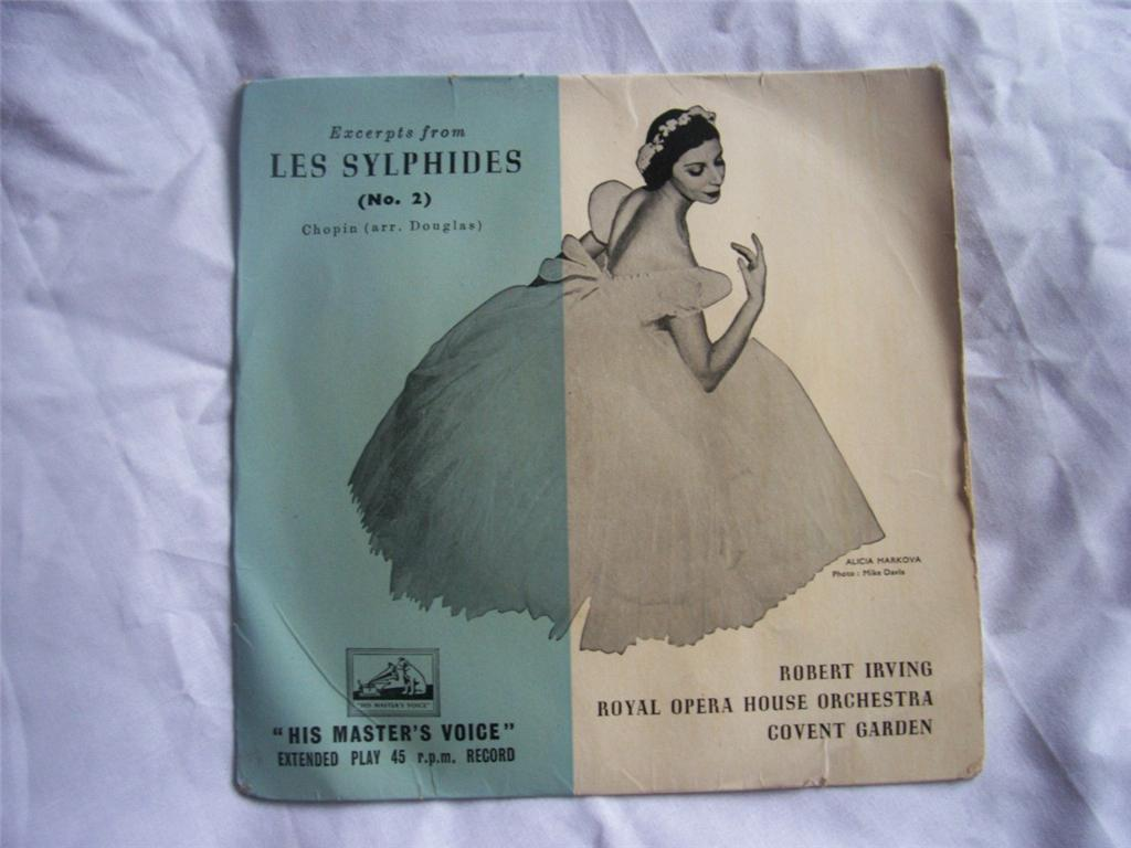ROBERT IRVING / ROYAL OPERA HOUSE ORCHESTRA - Chopin Excepts from Les Sylphides No 2 - 7inch (SP)