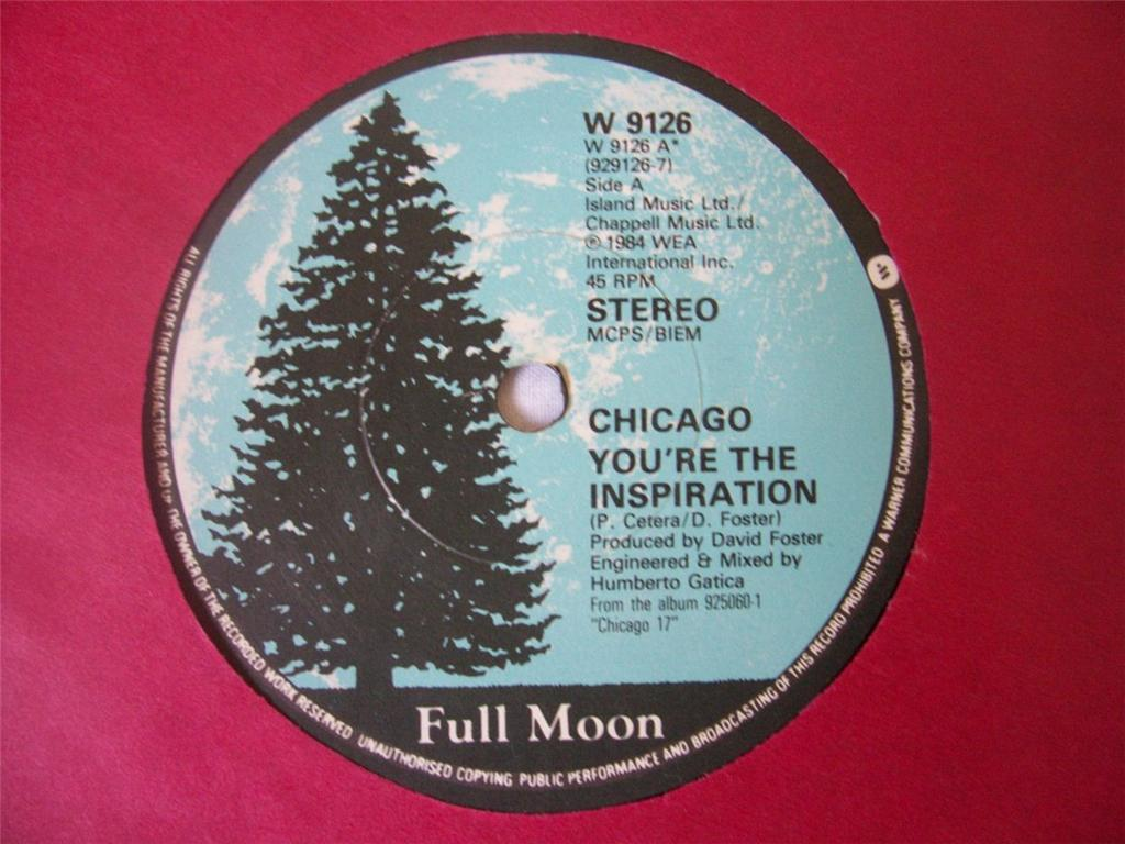 Chicago - You�re The Inspiration