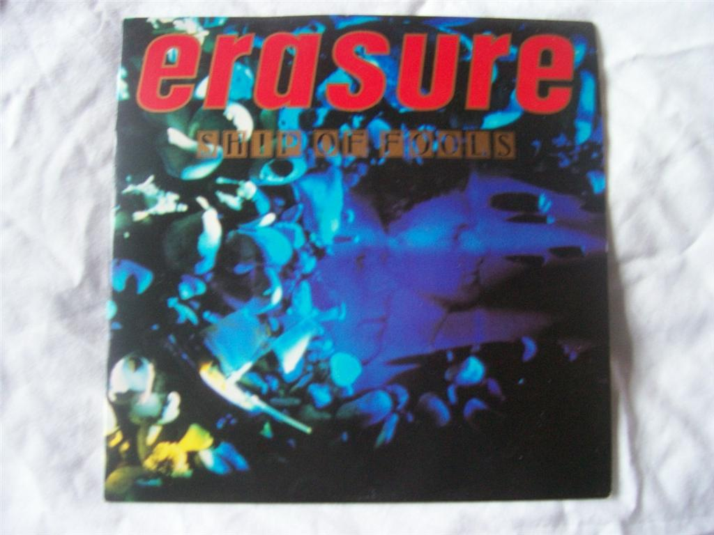 Erasure -  vinyl records and cds
