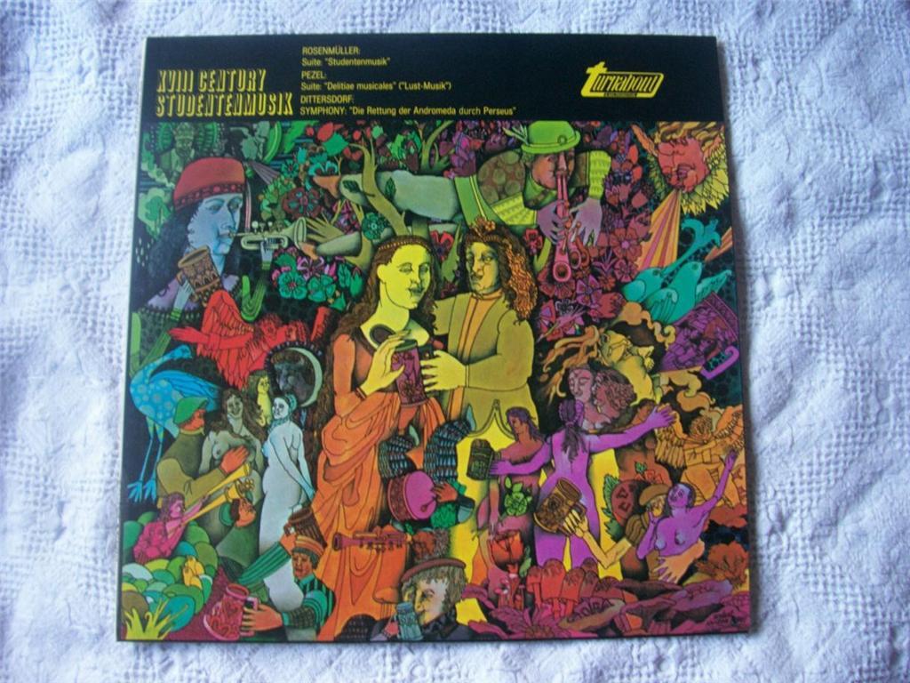 GUNTER KEHR / MAINZ CHAMBER ORCHESTRA - XVIII Century Studentenmusik - LP