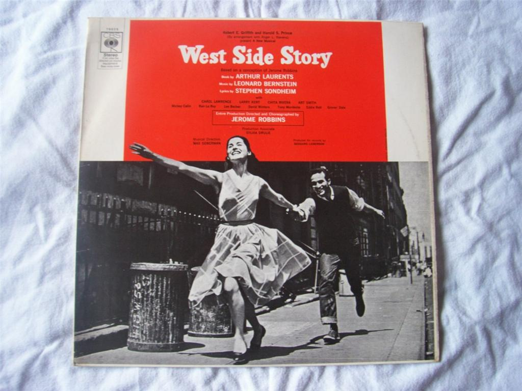 ORIGINAL CAST RECORDING - West Side Story - LP