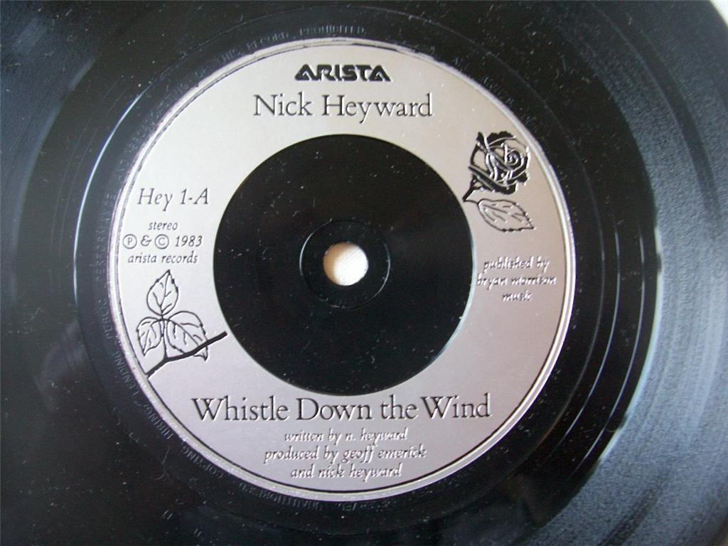 NICK HEYWARD - Whistle Down the Wind - 7inch (SP)