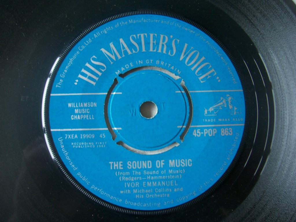 IVOR EMMANUEL - The Sound of Music / If This Isn't Love - 7inch (SP)