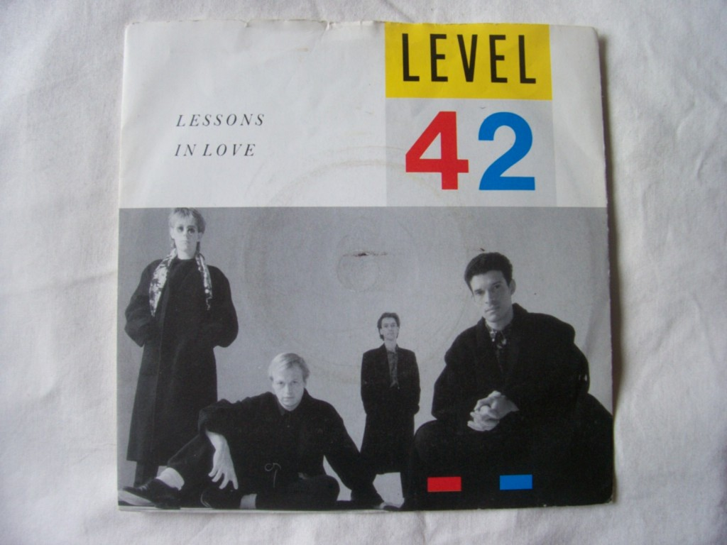 Level 42 - Lessons In Love LP