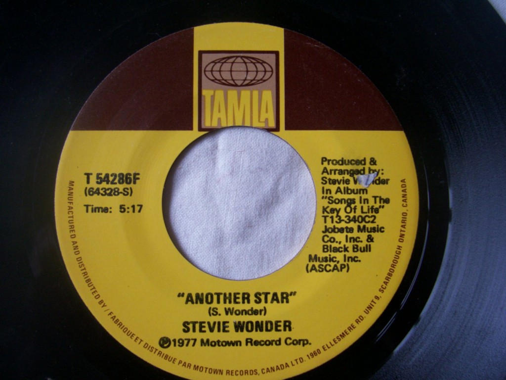 Stevie Wonder - Another Star / Creepin