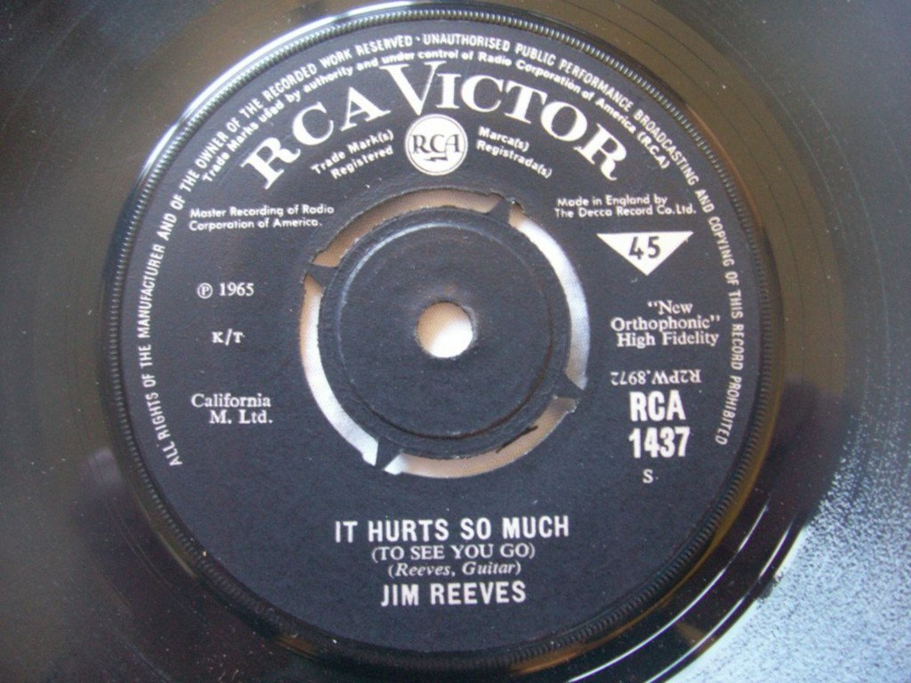 Jim Reeves - It Hurts So Much / Wishful Thinking