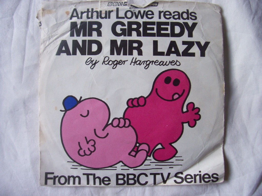 ARTHUR-LOWE-Mr-Greedy-Lazy-Roger-Hargreaves-7-45