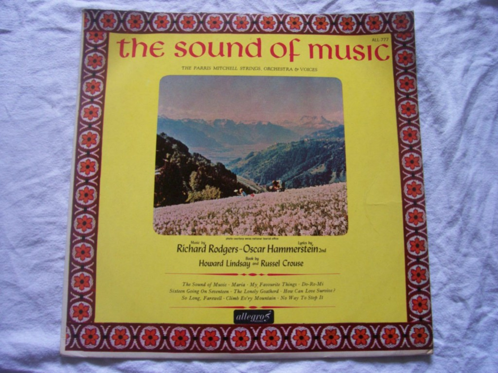 PARRIS MITCHELL STRINGS - The Sound of Music - LP
