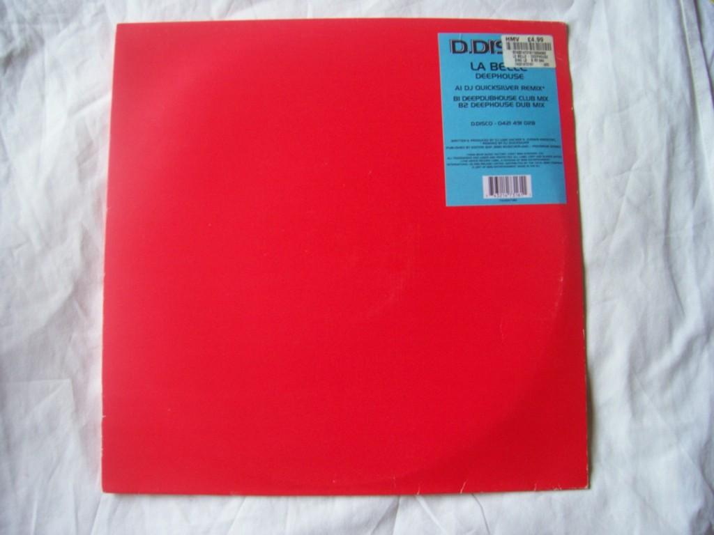 LA BELLE - Deephouse - 12 inch 45 rpm