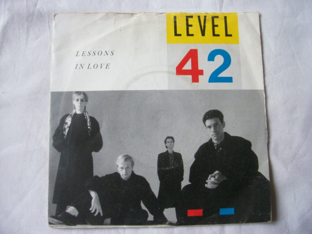 Level 42 - Lessons In Love CD