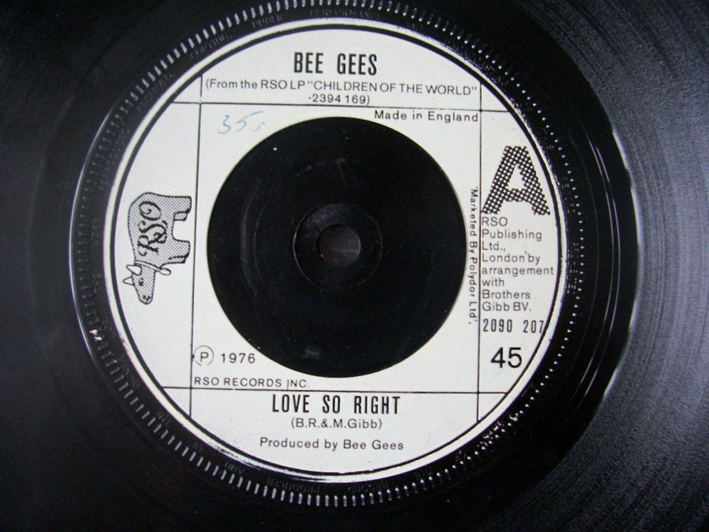 Bee Gees - Love So Right Album