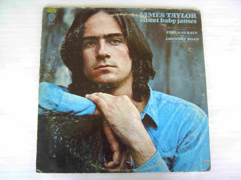 JAMES-TAYLOR-SWEET-BABY-JAMES-1970-LP-RECORD