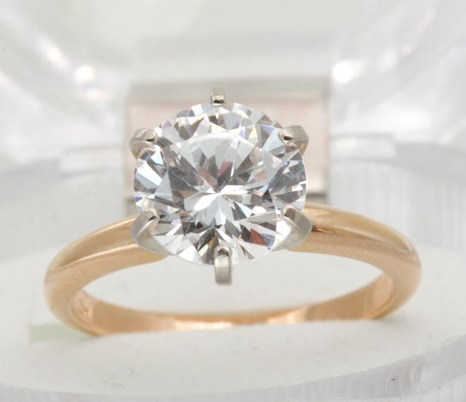 0-40ct-Genuine-GIA-Certified-I1-K-Diamond-Solid-Gold-Engagement-Ring-SPARKLY