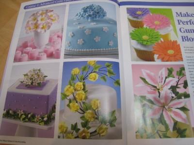 Wilton Course 4 ADVANCED GUM PASTE FLOWERS Book & Student ...